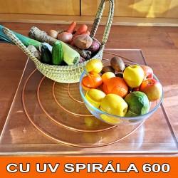Energetická spirála Cu UV 600