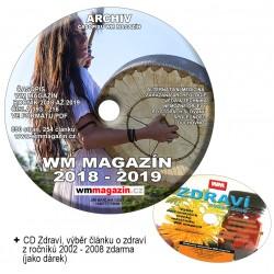 CD - WM magazín ročník 2018-2019+dárek