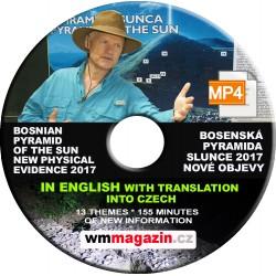 DVD - bosenská pyramida Slunce 2017
