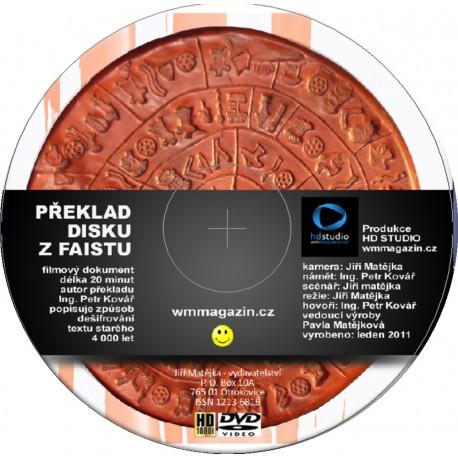 DVD - Překlad disku z Faistu